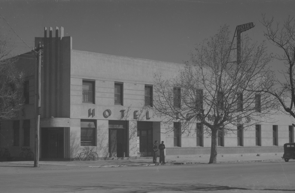 Terminus Hotel, Shepparton, c.1920-1954, Rose Sterograph Collection, Acc No. H32492-248, Courtesy of State Library of Victoria
