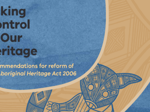 Protecting Aboriginal Cultural Heritage: Recommendations for Reform